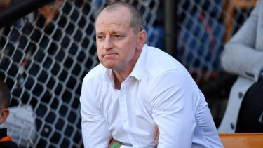 Tigers coach Michael Maguire is waiting to learn his fate.