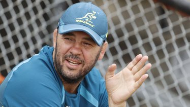 Preparation: Michael Cheika has decided to keep the Wallabies in Japan for an extra week after their final Bledisloe Cup match.