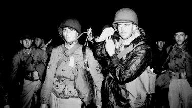 US troops arrive in Sydney during World War II