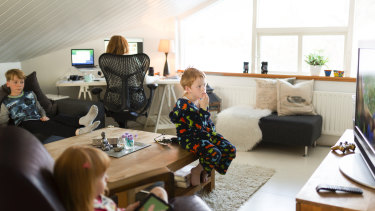 Streaming services on TV and tablet have become more acceptable forms of entertainment for kids during the global pandemic.