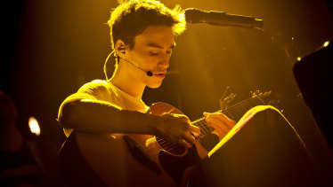 Jacob Collier was 'flabbergasted' to learn he had been nominated for album of the year.