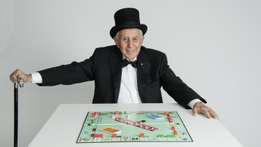 Harry Triguboff could just be the ultimate  Rich Uncle Pennybags.