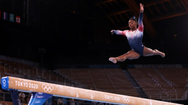 Simone Biles had a challenging time in Tokyo.