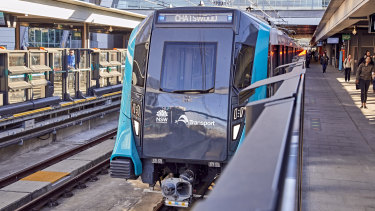 Services on the metro line ground to a halt for the second time on Tuesday evening.
