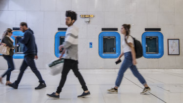 Sydney Trains plans to lease ticket offices at stations such as Martin Place in Sydney's CBD.