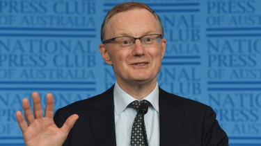 RBA governor Philip Lowe says climate change is already affecting the Australian economy.