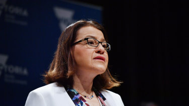 Victorian Health Minister Jenny Mikakos urged more Victorians to get tested for COVID-19.
