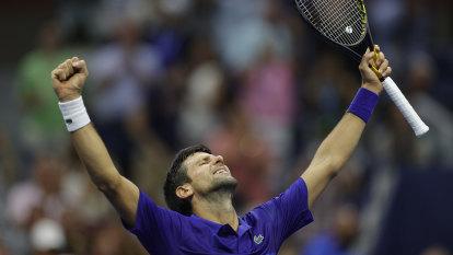 Djokovic three wins from Grand Slam as teen Raducanu continues dream run