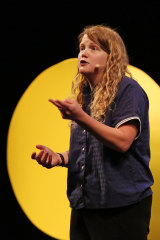 Kate Tempest gives the opening night address at the 2016 Sydney Writers' Festival.
