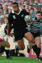 Joseph Suaalii has drawn comparisons with All Blacks great Jonah Lomu.