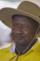 Uganda's long-time President Yoweri Museveni won re-election.