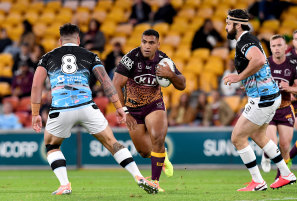 Tevita Pangai jnr won't be landing at the Roosters with his contract at the Broncos set to be torn up.