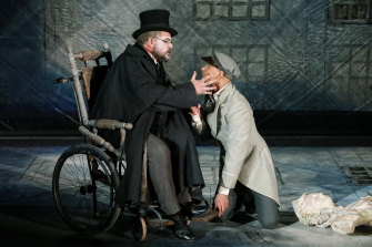 Richard Anderson as The Old Man and Shanul Sharma as The Student.