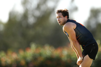 Toby Greene has been elevated to the vice-captaincy at GWS this season.