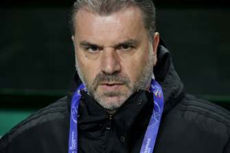 Former Socceroos coach Ange Postecoglou has been linked to the manager's role at Scottish giants Celtic.