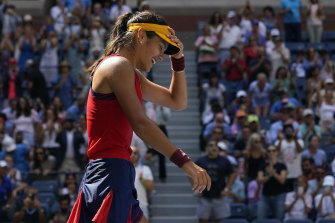 US Open breakout star Emma Raducanu says she had her return flight to the UK booked for the end of qualifying.