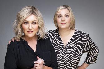Meshel Laurie and Emily Webb host the popular Australian True Crime podcast.