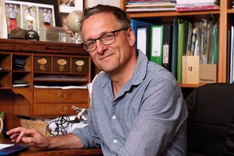 Michael Mosley is one of the bigger names to have already released a book about COVID-19.