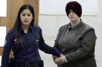 Accused child sex abuser Malka Leifer in February last year.