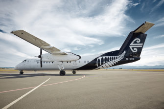 Air NZ boss Greg Foran said he was confident of finding an emissions-free replacement for its turboprop fleet.