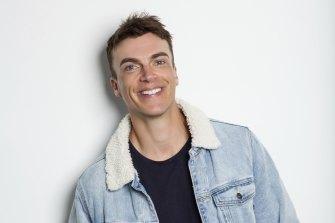 Comedian Elliot Loney.