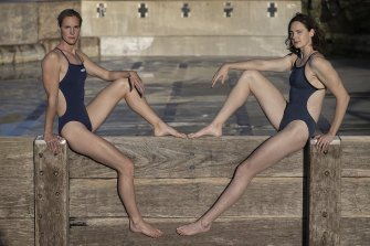 Cate Campbell (right), along with sister Bronte, has divorced herself from detail and just wants to swim.