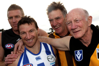 The AFL's exclusive 400-game club.