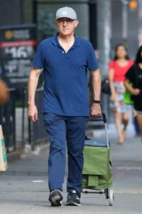Malcolm Turnbull pictured shopping in New York.