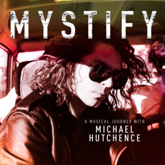 The cover of the 'new' Michael Hutchence album.