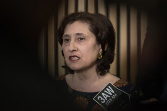Environment Minister Lily D'Ambrosio.