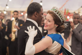 One of Netflix's title fighters: Claire Foy's Queen Elizabeth II was one highlight of The Crown, a lavishly funded hit.