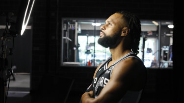 Patty Mills will lead an injury-hit Spurs into the NBA season.