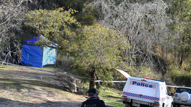 The bones were found on Monday morning and police remained at the scene overnight.