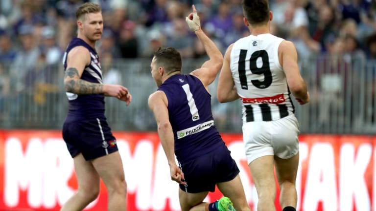 Hayden Ballantyne fired a little late for Fremantle while Cam McCarthy continued to struggle.