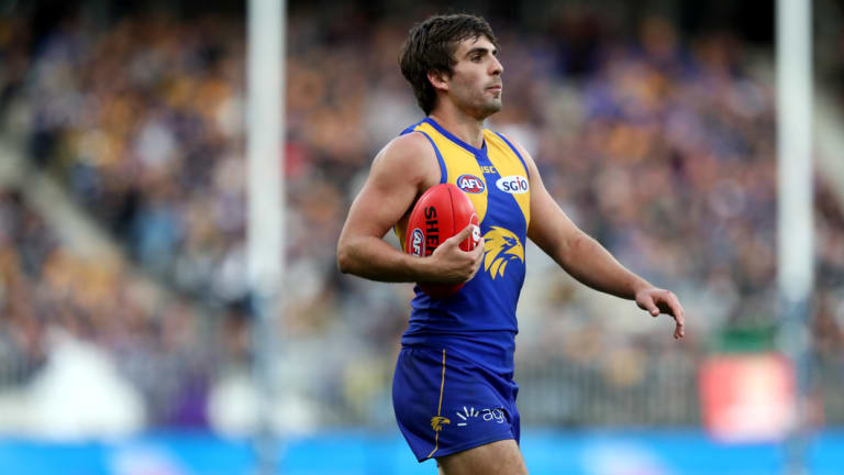 Eagle Andrew Gaff is set to face a lengthy ban.