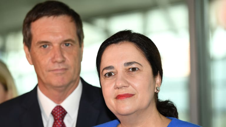 Annastacia Palaszczuk and Anthony Lynham say power bills will fall by around $70 thanks to the new investment.