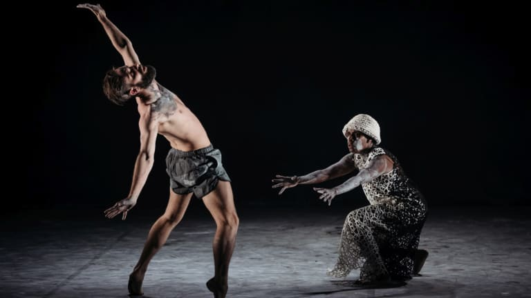 Dancers Rikki Mason and Elma Kris.