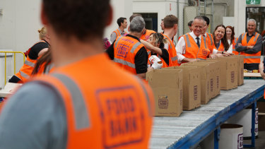 The Food Bank program will expand in schools as a result of the Queensland budget.