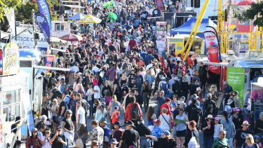 You will notice plenty of changes if you have not been to the Ekka in 10 years.