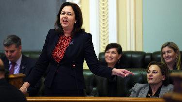 Premier backs deputy at Queensland Labor conference