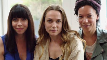Alison (Eileen Walsh), Laura (Kerry Condon) and Katie (Nina Sosanya) are women on the verge.