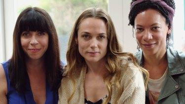 Alison (Eileen Walsh),Laura (Kerry Condon) andKatie (Nina Sosanya) are women on the verge.