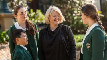 Power move: Why this Sydney private school is suiting up its