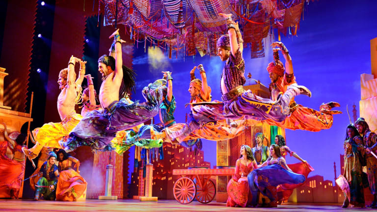 Aladdin played in Melbourne earlier this year.