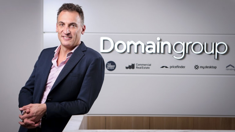 Antony Catalano resigned as Domain CEO last month, citing the toll the job was taking on his family.