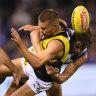 Kangaroos taught Richmond a lesson: Hardwick