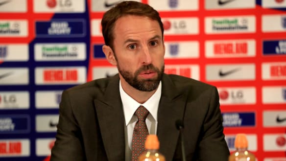 Southgate to lead England through to 2022 World Cup