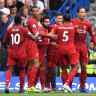 Liverpool win at Chelsea, West Ham beat a woeful Manchester United