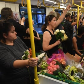 The flower tram, for Aiia.