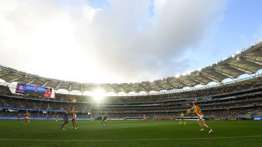 Optus Stadium is set to welcome a tick under 36,000 fans for the first six rounds of the 2021 AFL season.